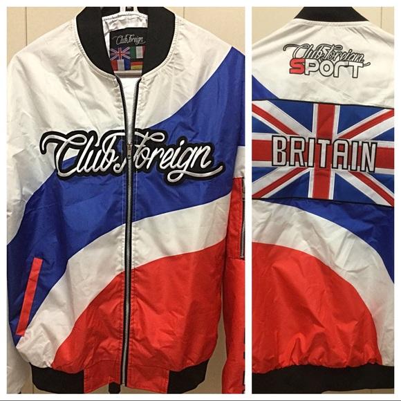 4735bc42 Club Foreign Jackets & Coats | Jacketswindbreaker Xl | Poshmark